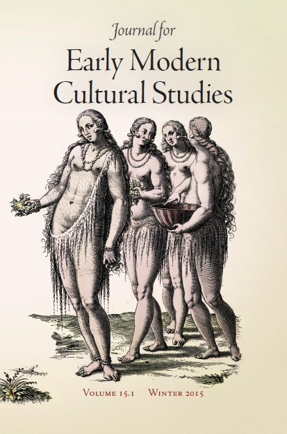 journal for early modern cultural studies